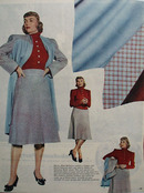 Dorothy McGuire Models Suit Ad 1946
