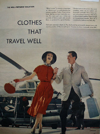 Clothes That Travel Well Ad 1952