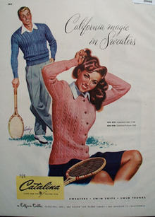 Catalina Sweaters California Magic Ad 1948