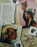 Ladies Hats Garden For Your Head Ad 1945