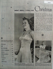 What Shall I Give Her For Christmas Ad 1939