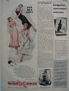 Miss Swank Slip Wardrobe Ad 1948