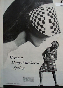 Optico and Elite Checkered Spring Ad 1966