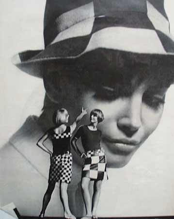 Optico and Elite Checkered Spring Ad 1966