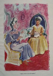 Cartoon By Garrett Price In Style Again 1948