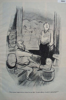Cartoon By Dedini Broken Foot 1949