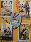 Cartoons by Dedini New Years Toasts 1950