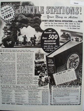 Wm Wise co Battle Stations 1946