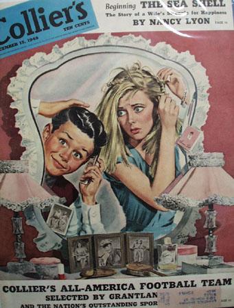 Colliers Magazine Cover Dec 1945