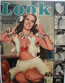 Look Magazine Cover Lily Pons 1938