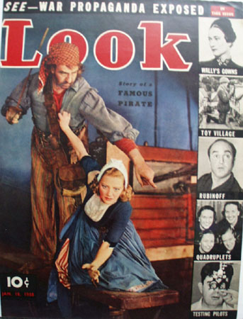 Look Magazine Cover Pirates 1938
