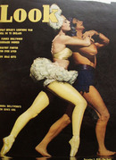Look Magazine Cover Zorina New Zowie Girl 1939