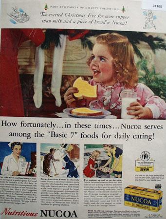 Best Foods Nucoa Oleomargarine 1943 Ad