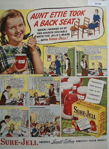 Sure Jell Powdered Pectin Product 1940 Ad