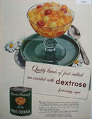 Dextrose Fruit Cocktail 1949 Ad