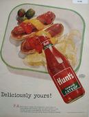 Hunts Tomato Catsup 1954 Ad