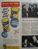 Kounty Kist Sweet Corn 1949 Ad