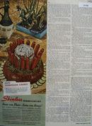 Viscing Skinless Frankfurters 1946 Ad