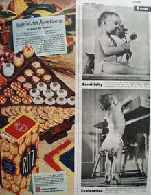 Nabisco Ritz Cracker 1945 Ad