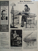 New Furniture of Glass, Steel and Celluloid 1938 article