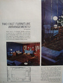 Two Fast Furniture arrangements 1965 Article