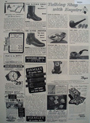 Shop by Mail Watch, Boot, Belts 1948 Ad