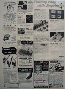 Shop by Mail Talking Shop with Esquire 1948 Ad