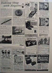 Talking Shop with Esquire Shop by Mail 1948 Ad