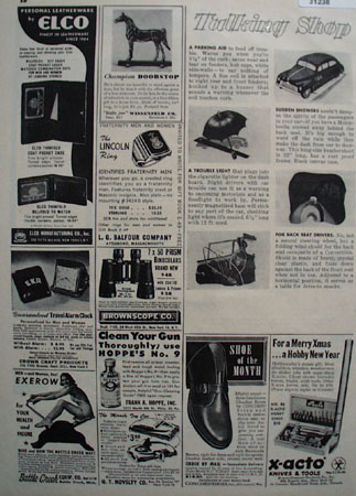 Talking Shop Order by Mail 1948 Ad