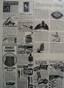 Shop By Mail Come on for Crows 1948 Ad
