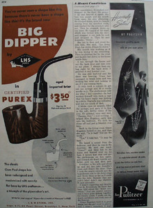 Big Dipper by LHS Pipes 1948 Ad