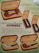 Kaywoodie Pipe Cigar and Cigarette holder 1947 Ad