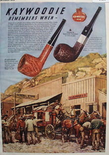 Kaywoodie Pipe Remembers When 1948 Ad