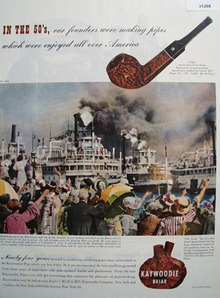 Kaywoodie Pipe Ninety Four Years 1948 Ad
