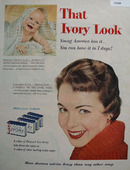 Ivory Soap That Ivory Look 1954 Ad