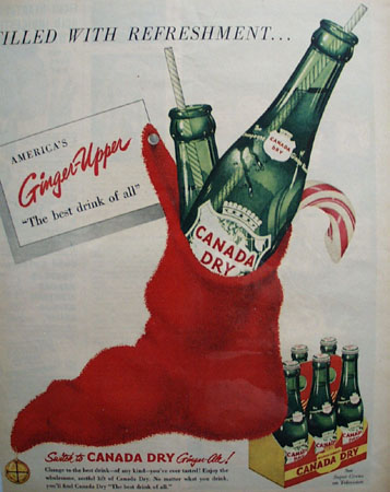 Canada Dry Ginger Ale 1951 Ad