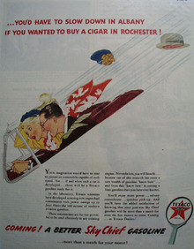 Texaco Service Dealers 1945 Ad