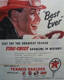 Texaco Best Ever Gasoline 1946 Ad