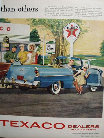 Texaco Tourist 1952 Ad