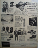 Roy Rogers Enterprises 1955 Ad
