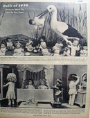 Dolls of 1938 Mankinds Oldest Toy 1938 Article