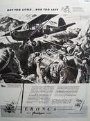 Eronca Grasshopper Aircraft 1943 Ad