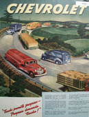 Chevrolet Truck 1945 Ad