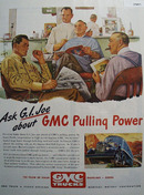 GMC Truck Pulling Power 1946 Ad
