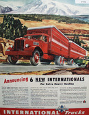 International Harvester Co Trucks 1946 ad