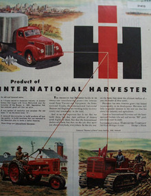 International harvester Products 1946 Ad
