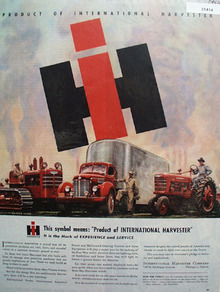 IH Product of International Harvester 1945 Ad