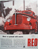 Reo Grand Old Name Truck 1945 Ad