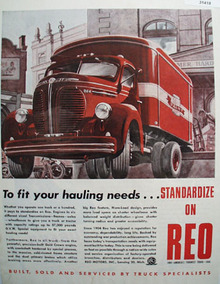 Reo since 1904 Truck 1946 Ad