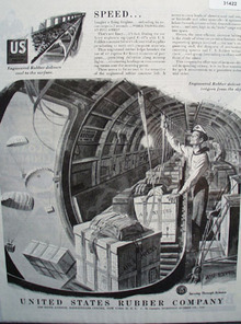 United States Rubber Co. 1945 ad